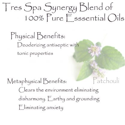 Tres Spa Synergy Blend - Patchouli