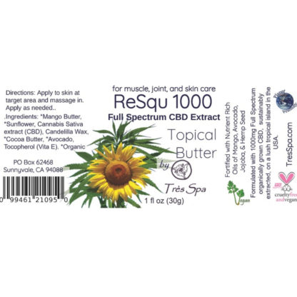 ReSqu Butter by Tres Spa