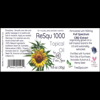 ReSqu1000 Oil