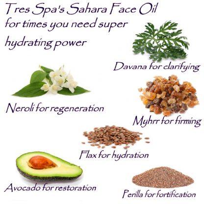 Tres Spa Sahara Face Oil