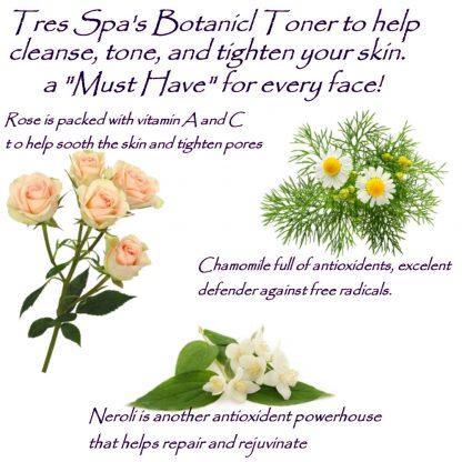 Tres Spa's Botanical Toner