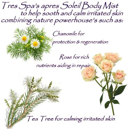 Tres Spa's apres Soliel Body Mist